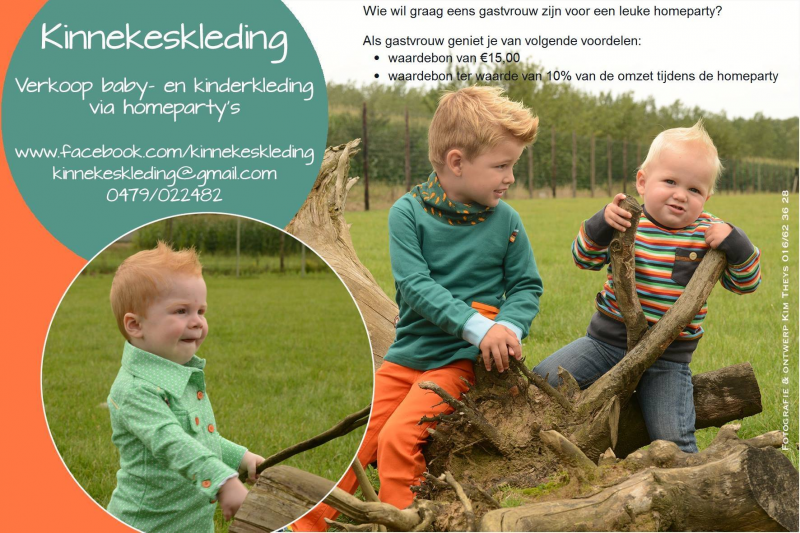 Homeparty baby- en kinderkleding