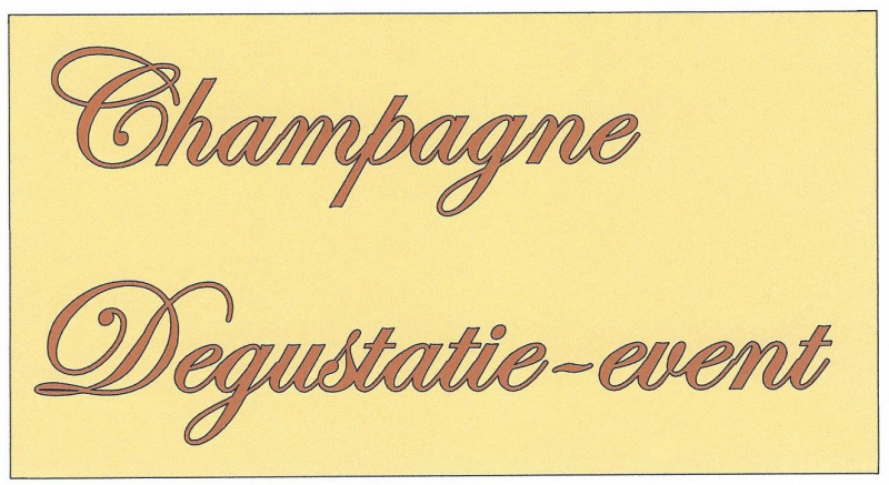 Champagne degustatie-event  2 april