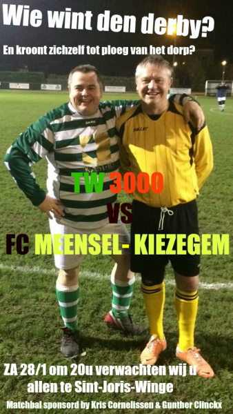 Derby time in Tielt-Winge