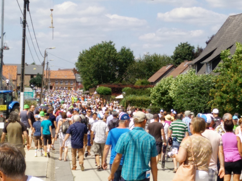 Dit was de Tour de France 2015 in Meensel-Kiezegem