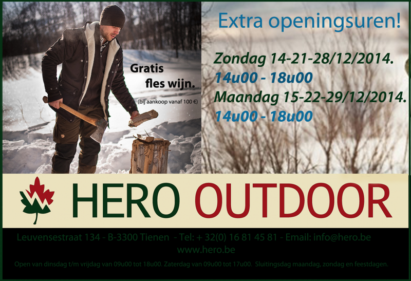 Extra Openingsuren December 2014